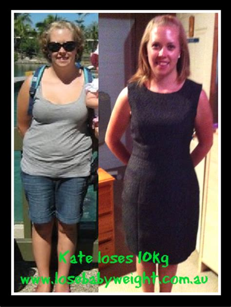 weight loss 9th month pregnancy lose baby weight kate nielson loses 10kg