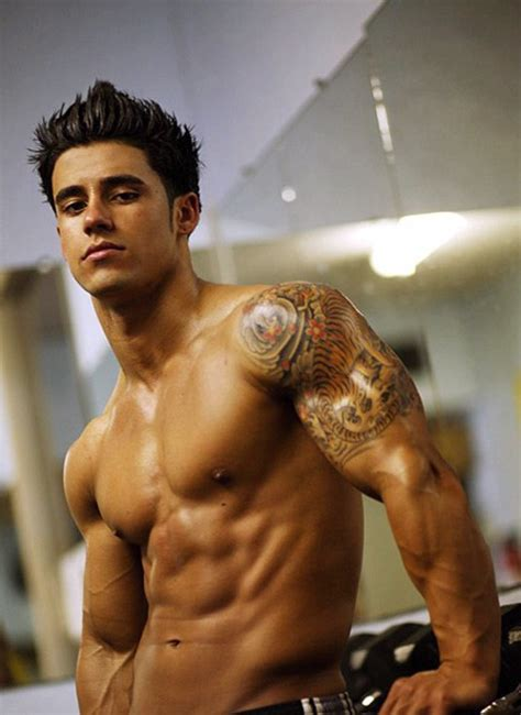 hot men with tattoos tattoos designs for biceps