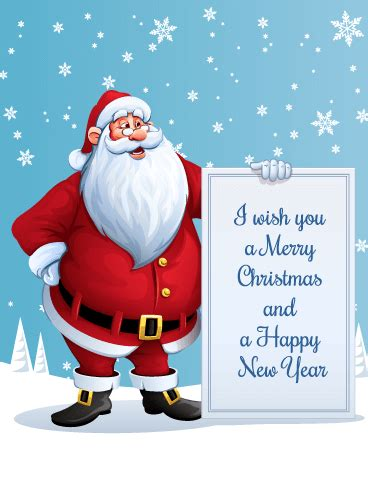 merry christmas santa christmas card birthday greeting cards  davia