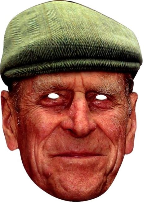 printable masks queen prince philip with hat face mask novelties direct