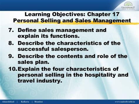 The Personal Mba Chapters by Personal Selling Sales Management