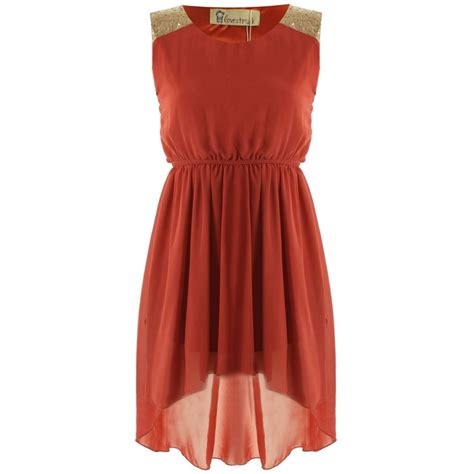 Petras Dress by Lovestruck Dress Orange Lovestruck From