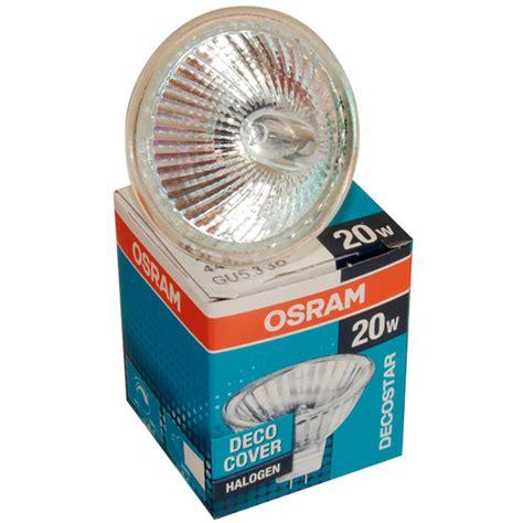 Lu Halogen Decostar 20w Osram 1 buy osram decostar gu5 3 12v 20w dichroic halogen mr16 light bulb from websparky