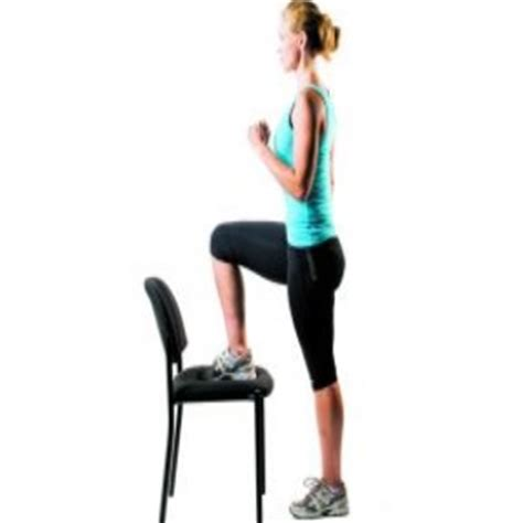 Chair Step Ups by Five Top Chair Exercises Best Chair Exercise Program