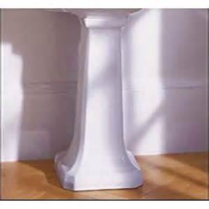 bathroom sink pedestal only lutezia bathroom sink pedestal only finish white