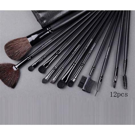 Best Seller Mac Brush Kuas Make Up 12 Pcs Make Up Brush 12 Pcs 12 pcs mac cosmetics brushes in pakistan hitshop