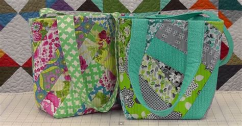 Quilted Purses To Make by Perfectly Project Make Your Own Quilted Tote Bag