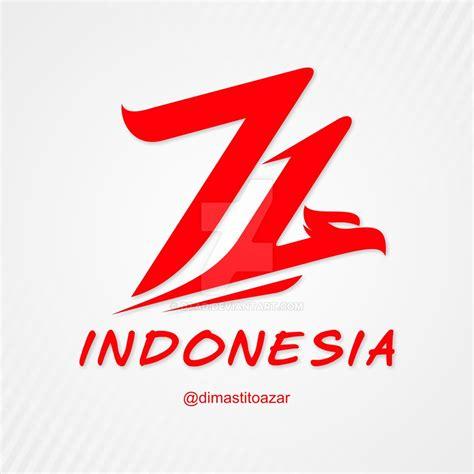 hut indonesia logo hut ri 71 by dtad on deviantart