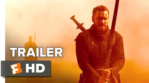 Macbeth Trailer Youtube | macbeth official us release trailer 2015 michael