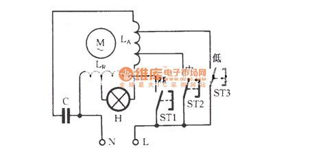 single phase motor winding diagram single phase motor winding tap speed regulating circuit