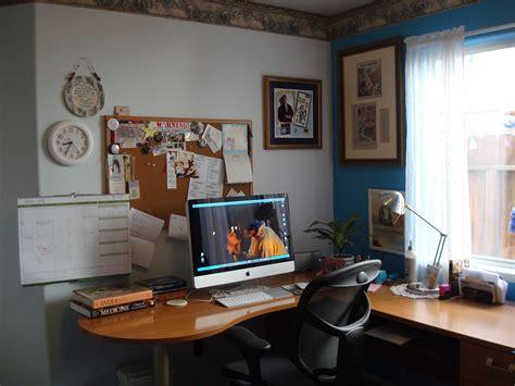 Office Desk Area Sharon Lathan Novelist Desk Area