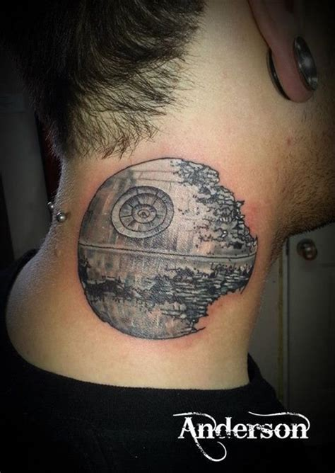 death star tattoo tattoos