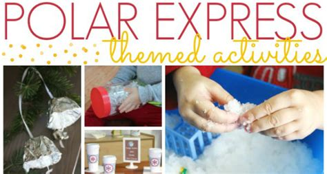 polar express crafts for polar express activities for preschoolers pre k pages