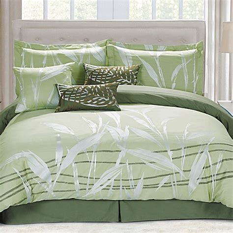 buy panama jack pas king comforter set in green from