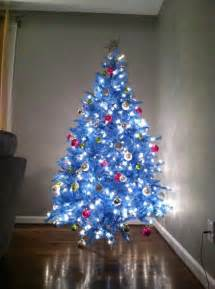 baby blue artificial christmas tree treetopia