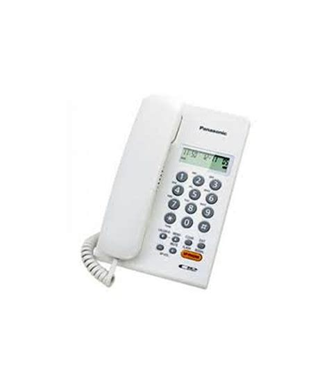 Panasonic Corded Phone Kx Ts820nd panasonic kx tsc62sxw corded landline phone available at snapdeal for rs 1321