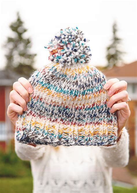 toque knitting patterns free easy knit toque with free pattern the lovely things