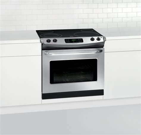 30 drop in frigidaire ffed3025ps 30 inch drop in smoothtop electric