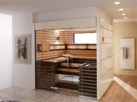 sauna ideen sch 246 ne moderne sauna f 252 rs wellness bad mag die