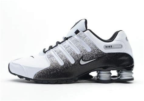 Nike Shock nike shox nz black white metallic silver