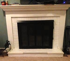 painting a brick fireplace brick fireplace painting laffco painting