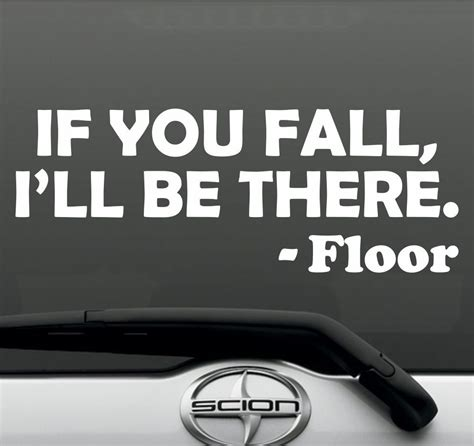 Lustige Autoaufkleber Kaufen by If You Fall Bumper Sticker Vinyl Decal Jdm Quote