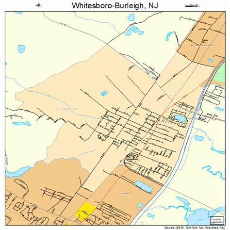 whitesboro map whitesboro burleigh new jersey map 3480855