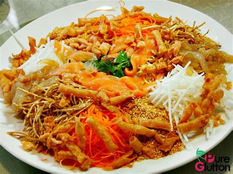 new year lo hei restaurant prosperity new year dishes di wei