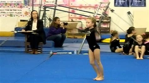 Gymnastics Level 3 Floor Routine by Level 3 Gymnastics Floor Routine 9 2 Score