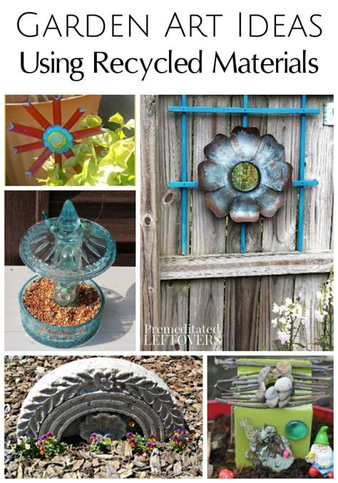 garden from recycled materials garden ideas using recycled materials