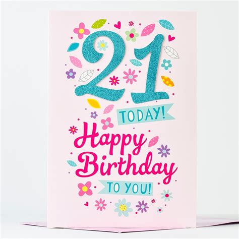 free 21st birthday cards templates card design ideas best today 21st birthday card special