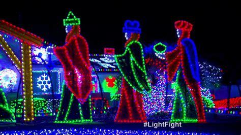 preston family light show the great christmas light