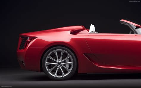 lexus lfa convertible lexus lfa roadster concept car images widescreen exotic