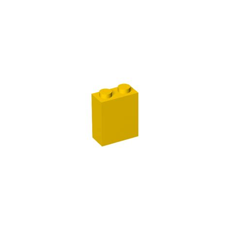 brick pattern exles lego yellow brick 1 x 2 x 2 with inside axle holder 3245