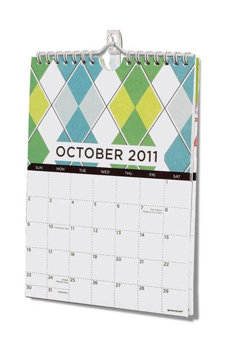 Calendar Hanger Hang A Wall Calendar Using Command Clear Mini Hooks
