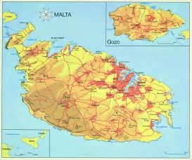 Malta island map 1800 183 1301