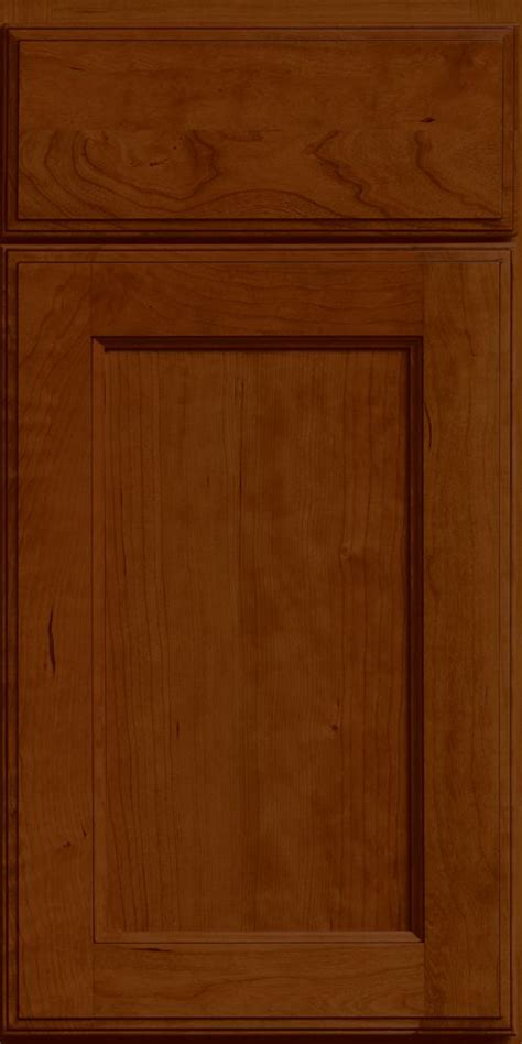 Merillat Kitchen Cabinet Doors Merillat Classic Shaker Style Ralston Cabinet Door In Paprika Stain With Glaze On Cherry
