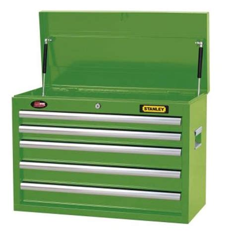 Stanley 5 Drawer Tool Chest by Stanley 26 In 5 Drawer Tool Chest In Wide Lime Green