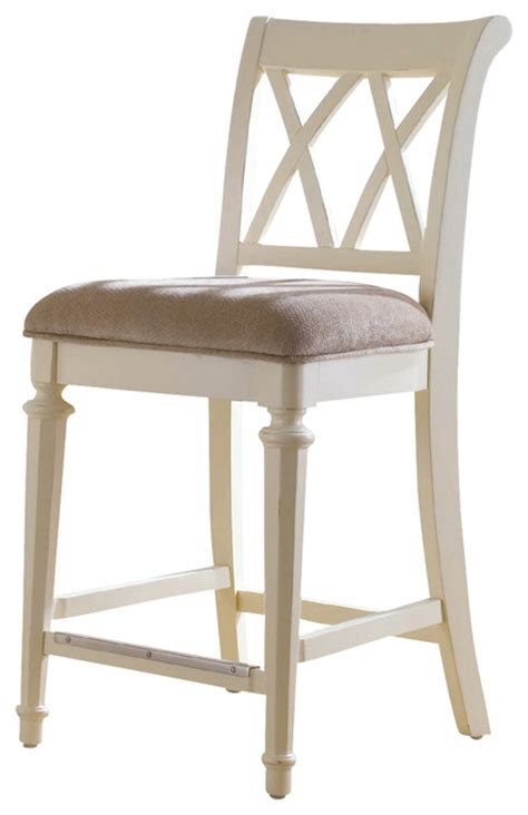 white counter height bar stools american drew camden light counter height barstool in