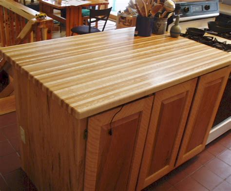 Solid Wood Bar Top by Installed Products From Timbergreen Farm