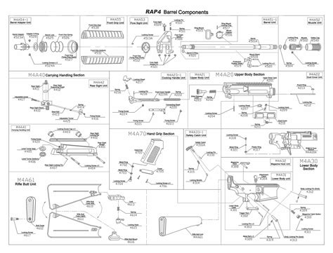m4 parts diagram modern combat solutions rap4 mets ram r series m4 parts