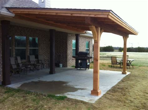 Patio Covers Simple Royce City Patio Cover With Shingles Hundt Patio