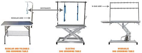 used electric grooming table top 5 best grooming tables foldable electric