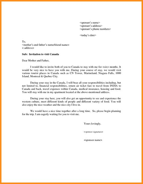 Invitation Letter For Lithuania Visa 10 sle of invitation letter azzurra castle grenada