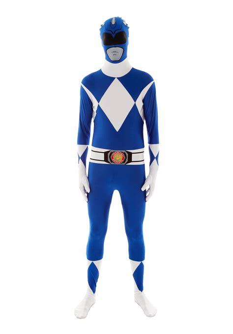 power rangers blue ranger morphsuit