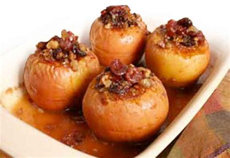 cranberry baked apples recipes and menus