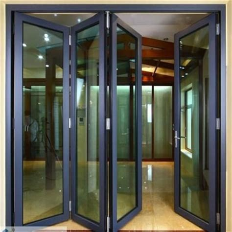 folding glass patio doors prices aluminum glass folding door balcony folding door folding