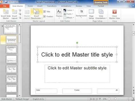 placeholder text color powerpoint 2010 change text color in a placeholder