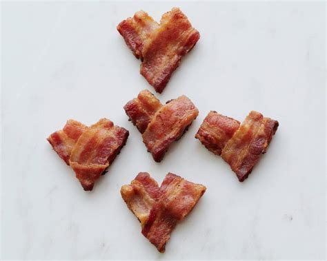 valentines bacon food network shaped foods for s day