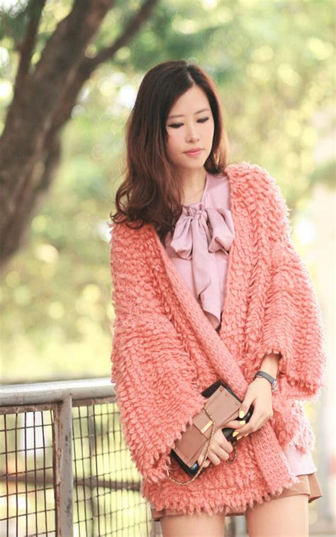 Cardi Outer Pink sulley in pink mellowmayo